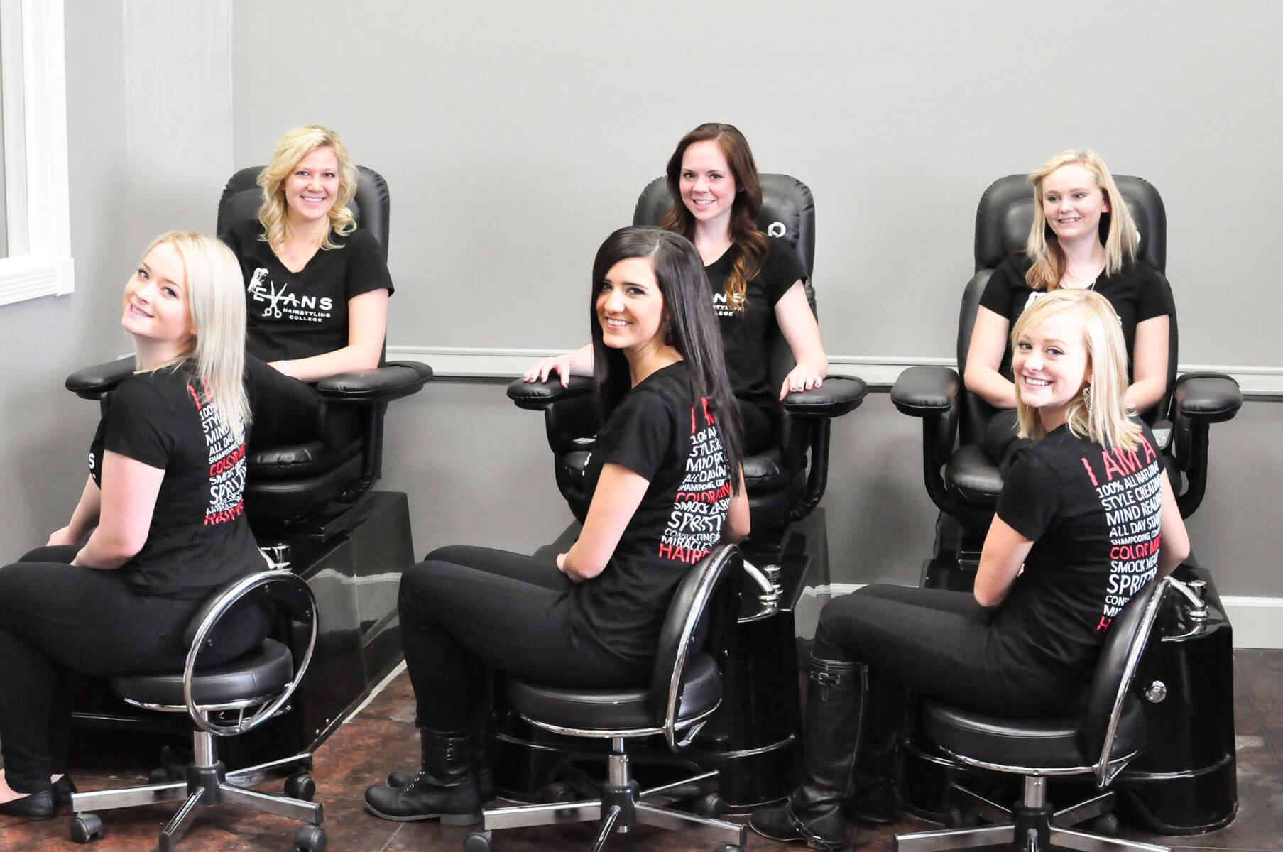 School Evans Hairstyling College